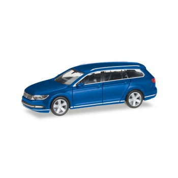 1/87 VW Passat Variant, atlantic blue metallic Herpa