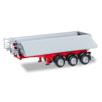 1/87 Schmitz dump trailer, 3a, red Herpa
