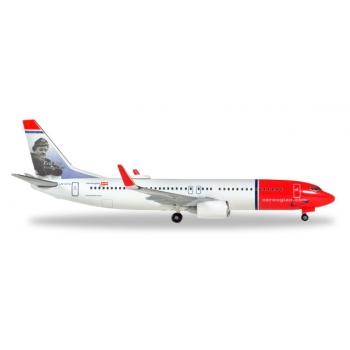 "1/500 Norwegian Air Shuttle Boeing 737-800 - LN-DYA ""Erik Bye"""