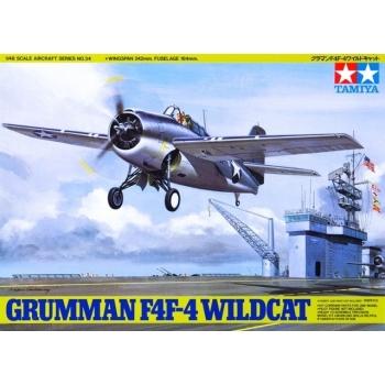 1/48 Grumman F4F-4 Wildcat, Tamiya