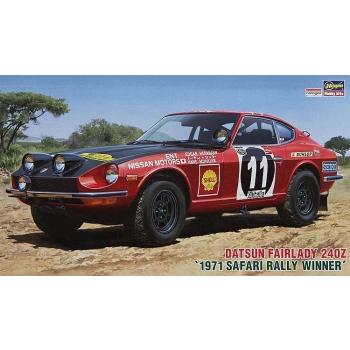 1/24 HASEGAWA Datsun Fairlady 240Z 1971 Safari Rally-Gewinner