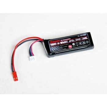 LiPo Aku 2S/850mAh 7.4V 30C Graupner mini JST/BEC