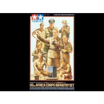1/48 Tamiya WWII German Africa Corps Infantry Set