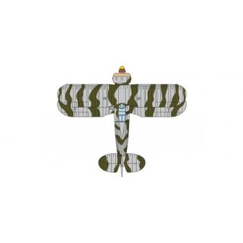 1/72  Finnish Air Force Gloster Gladiator with Skis Fl 19 Fanrik Karlsson, Rovaniemi 1940 Oxford Avitation