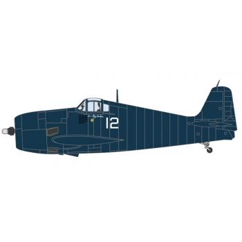 1/72 Grumman Hellcat VF31 Lt. Ray Hawkins. USS Cabot 1944 Oxford Avation