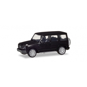 1/87 Mercedes-Benz G-Model, obsidian black metallic Herpa