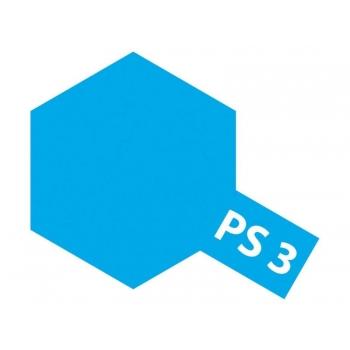 Tamiya PS-3 hele sinine lexan spray