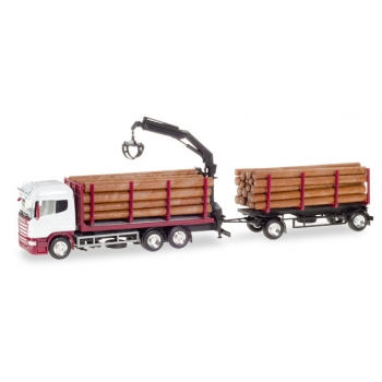 1/87 Scania R HL wood carrier, unprinted HERPA