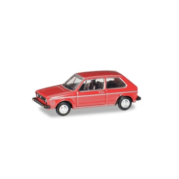 1/120 VW Golf I, martian red HERPA