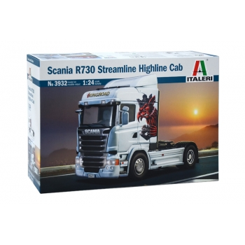 1/24 ITALERI SCANIA R730 STREAMLINE HIGHLINE CAB