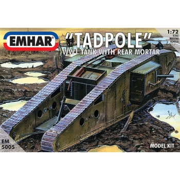 1/72 EMHAR WWI Tadpole Tank