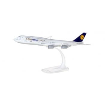 """1/250 Lufthansa Boeing 747-8 Intercontinental """"Starhansa"""" SNAP-FIT"""