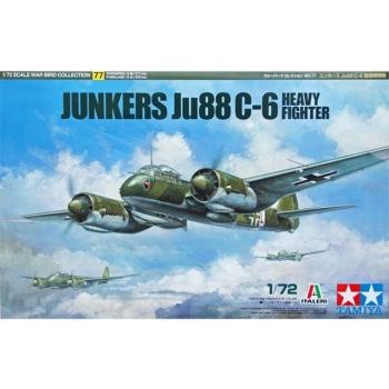 1/72 Junkers Ju88 C-6 Heavy Fighter Tamiya