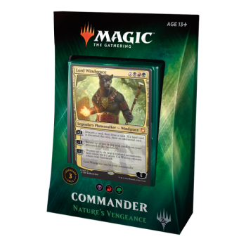 Commander 2018 Nature's Vengeance