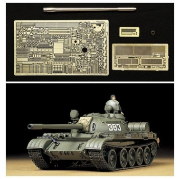 1/35 TAMIYA T-55A w Phto-Etched & Metal Gun Barrel