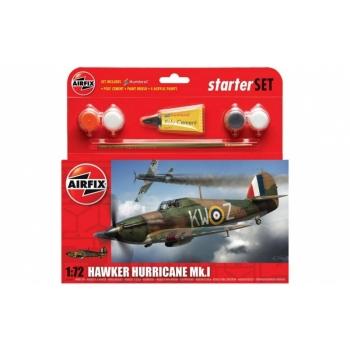 1/72 AIRFIX Hawker Hurricane MkI Starter Set
