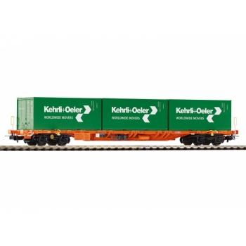 1/87 H0 Flatcar Sgnss w/3x 20 Containers SBB VI