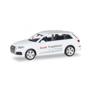 "1/87 Audi Q7 ""Audi Tradition"" HERPA"