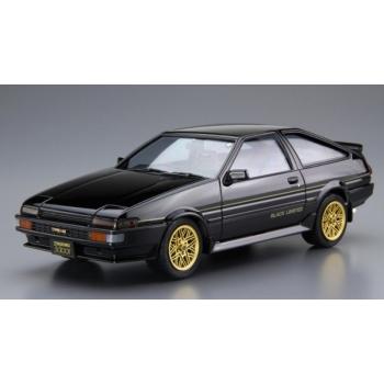 1/24 AOSHIMA Toyota AE86 Sprinter Trueno GT Apex Black Limited 86