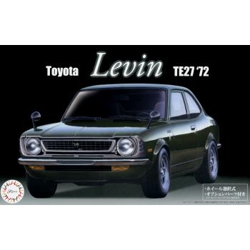1/24 FUJIMI Toyota Levin TE27