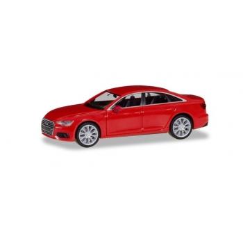 1/87 Audi A6 ® Limousine, Tango red metallic Herpa