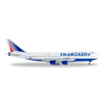 1/500 Transaero Airlines Boeing 747-400