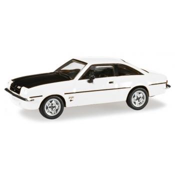 1/87 Opel Manta B, white/black Herpa
