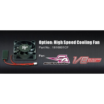 High Speed Option Cooling fan 40 x 40mm