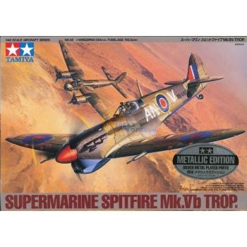1/48 TAMIYA Super Mc Spitfire Mk.Vb Trop. Metallik