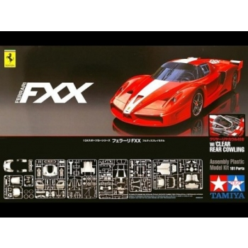 1/24 TAMIYA Ferrari Fxx Clear Rear Cowling