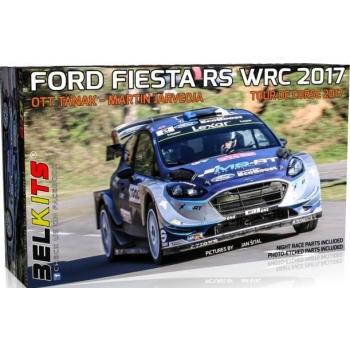 1/24 Ford Fiesta RS WRC 2017 Ott Tänak ja Martin Järveoja Tour de Corse 2017 BELKITS