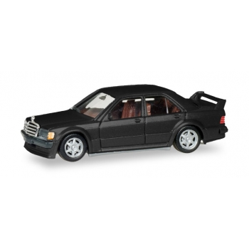 1/87 Mercedes-Benz E 190 (E 2,5 16V) black metallic HERPA