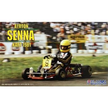 1/20 FUJIMI Ayrton Senna Kart 1981