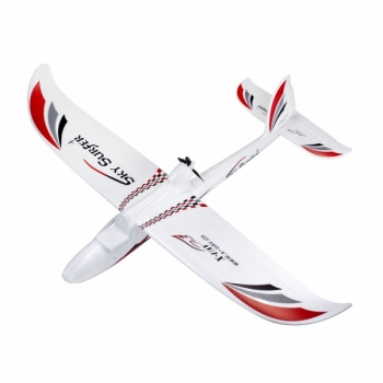 SKY SURFER 2,4 GHz (black-red-grey) RTF Mode 2 Plane