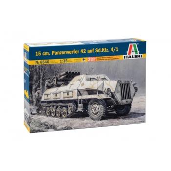 1/35 ITALERI 15 cm. PANZERWERFER 42 AUF SD.KFZ. 4/1