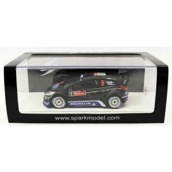 1/43 Ford Fiesta Rs Wrc #5 8Th Rally Montecarlo 2012 Tänak SPARK