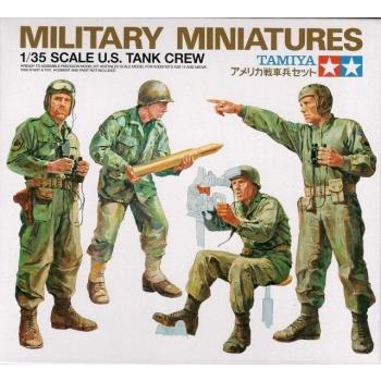 1/35 U.S. Tank Crew Tamiya