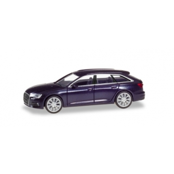 1/87 Audi A6 Avant, firmamentblue metallic Herpa
