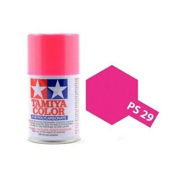 Tamiya PS-29 neoon roosa lexan spray