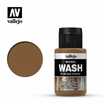 Model Wash European Dust 35ml