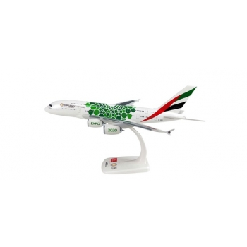 "1/250 Emirates Airbus A380 – Expo 2020 ""Sustainability-livery"" Snap-Fit"