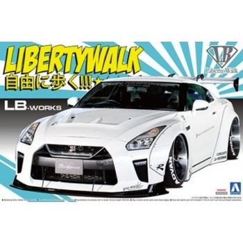 1/24 R35 GT-R Liberty Walk No.11 LB Works  Type 1.5
