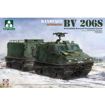 1/35 Bandvagn BV 206S Articulated Armored Personnel Carrier Takom