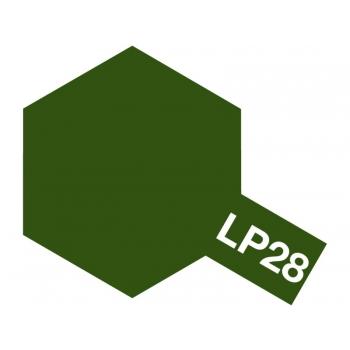 Tamiya värv LP-28 Hallikas Oliiviroheline