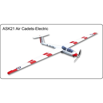 ASK21 Air Cadets Electric Glider - FlyFly Hobby