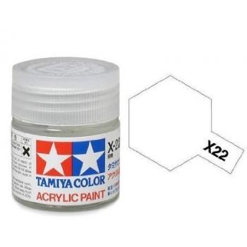TAMIYA  X22 LÄIKEGA LAKK 10ml