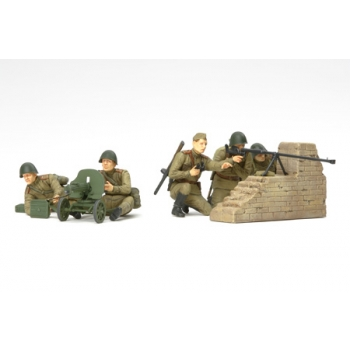 1/35 TAMIYA Russian anti-tank team