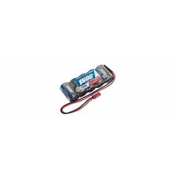 NiMH Pardaaku 6.0V 1600mAh 2/3A, 1/8 ja 1/10 autode pardaku straight LRP XTEC