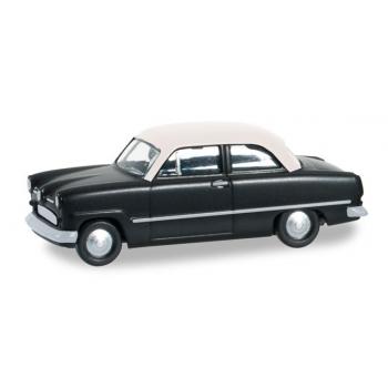 """1/87 Ford Taunus Weltkugel """"schwarz HERPA"""