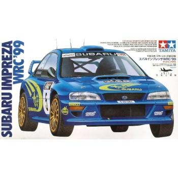 1/24 TAMIYA Subaru Impreza WRC '99